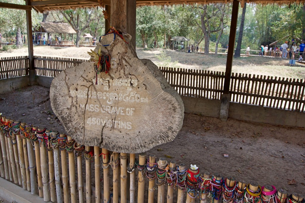 Killing Fields at Choeung Ek