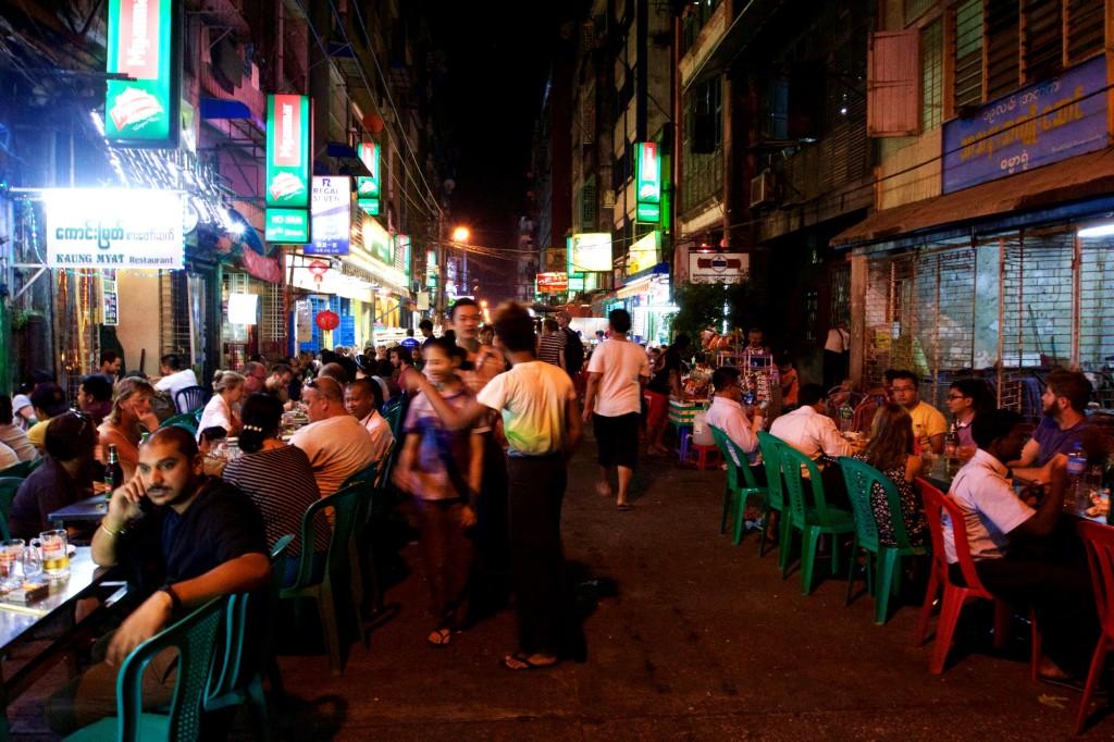 19th Street, Yangon