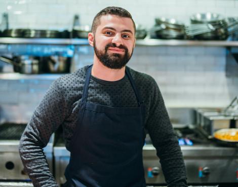 Vinny Lauria of Linguini Fini and Stone Nullah Tavern