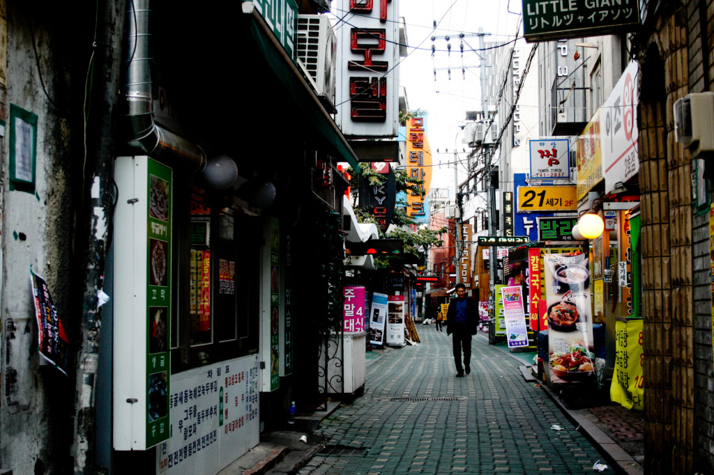 A stoll through Insadong, Seoul. Photo: Jareed/Flickr CC
