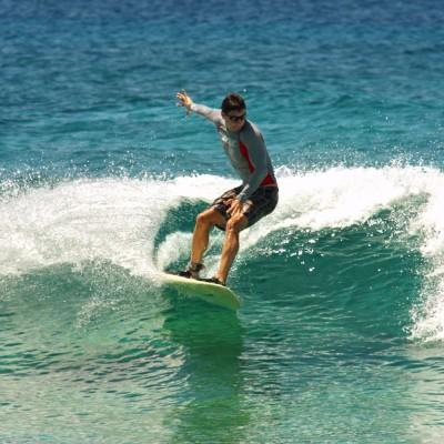 Catch a Wave in the Maldives