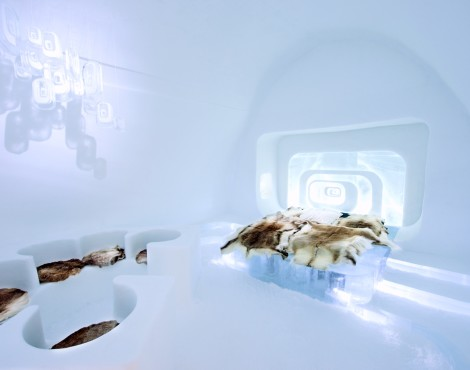 Check into the Original Ice Hotel