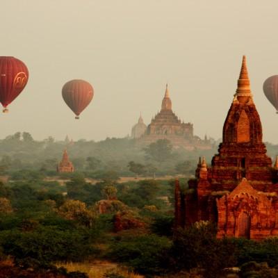 Go Hot-Air Ballooning Over Bagan