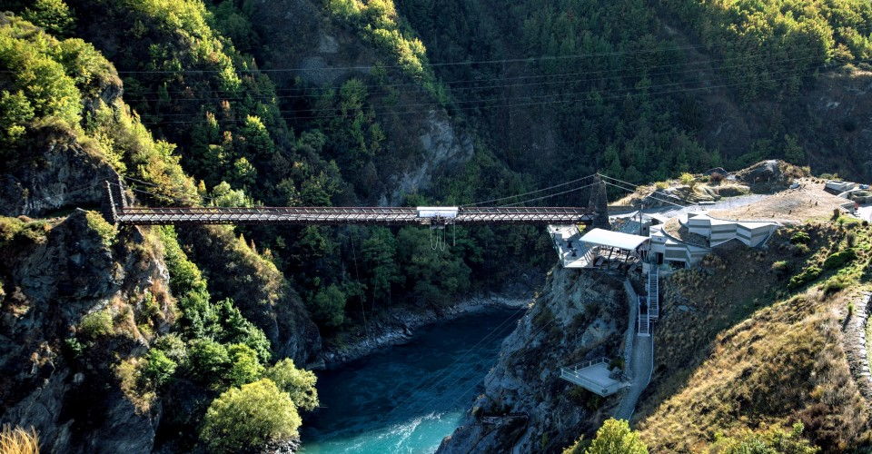 Go Bungy Jumpin, Kawarau, New Zealand