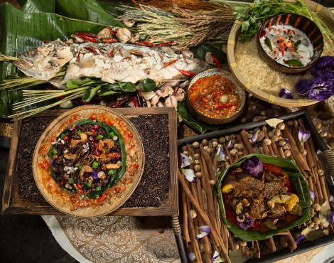 Songkran buffet at Yamm —win tix to BKK while you're at it