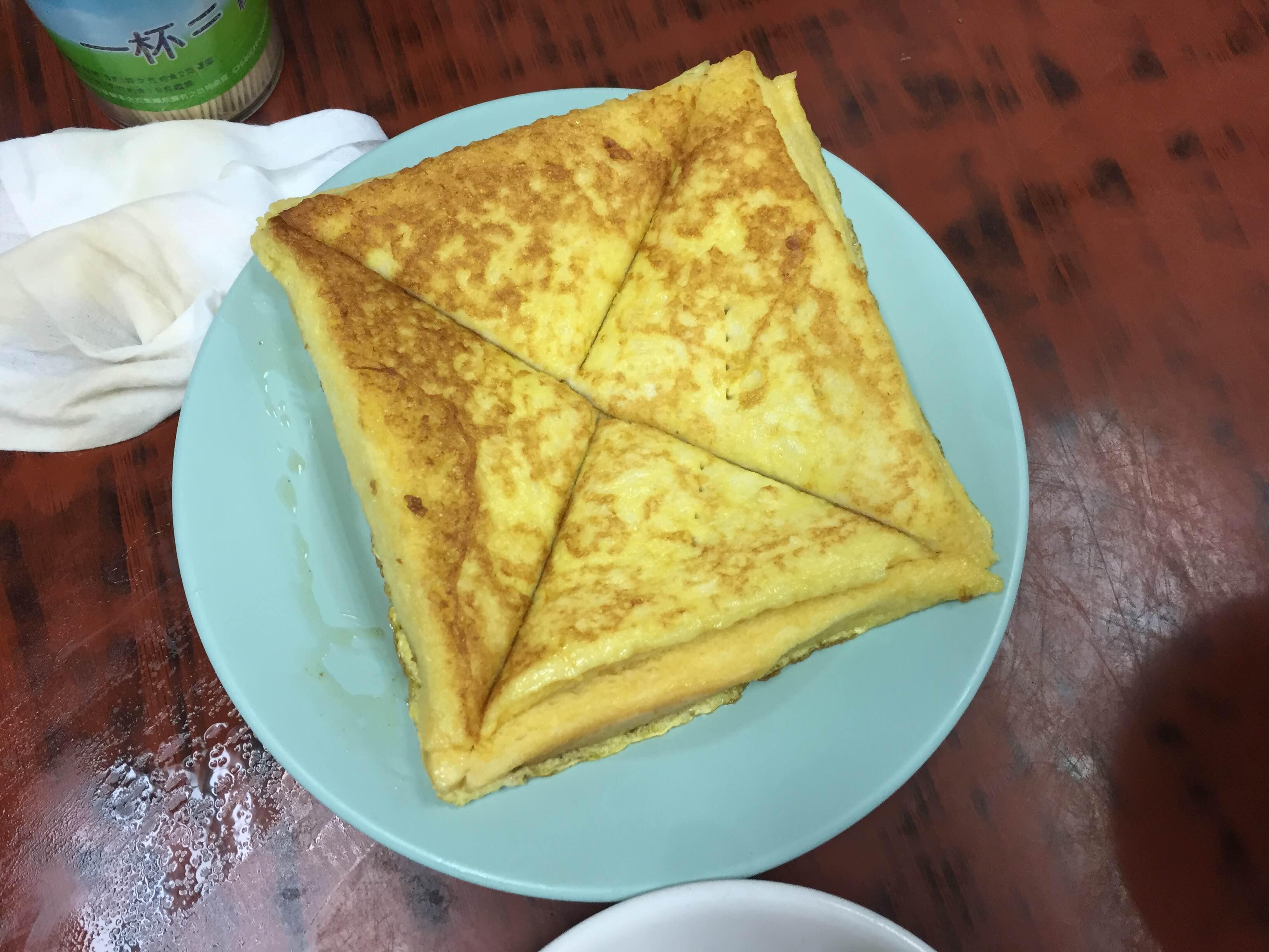 Wai kee Noodle cafe french toast