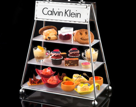 COCO launches Calvin Klein-inspired afternoon tea