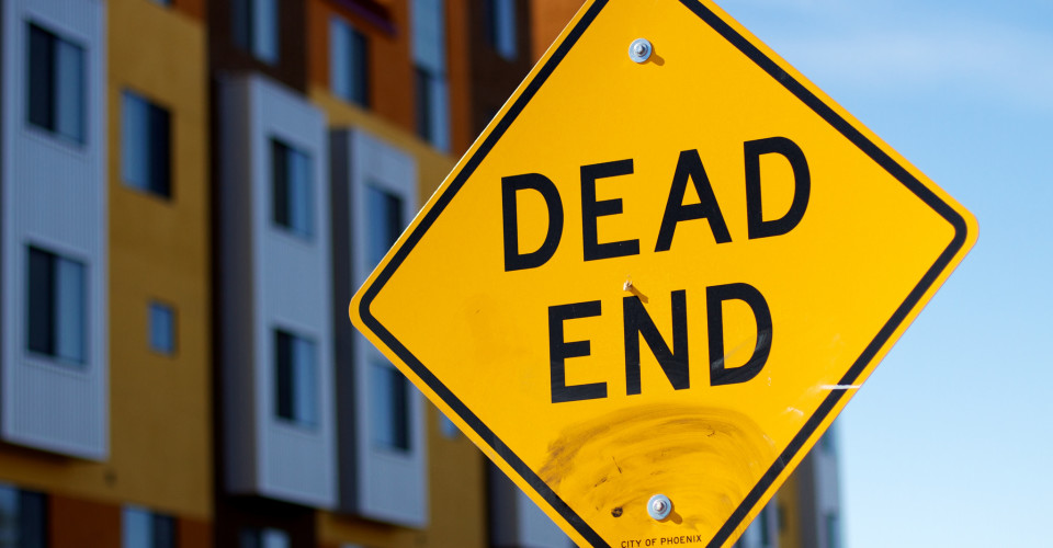 Dead End. Photo: Alan Levine/Flickr CC