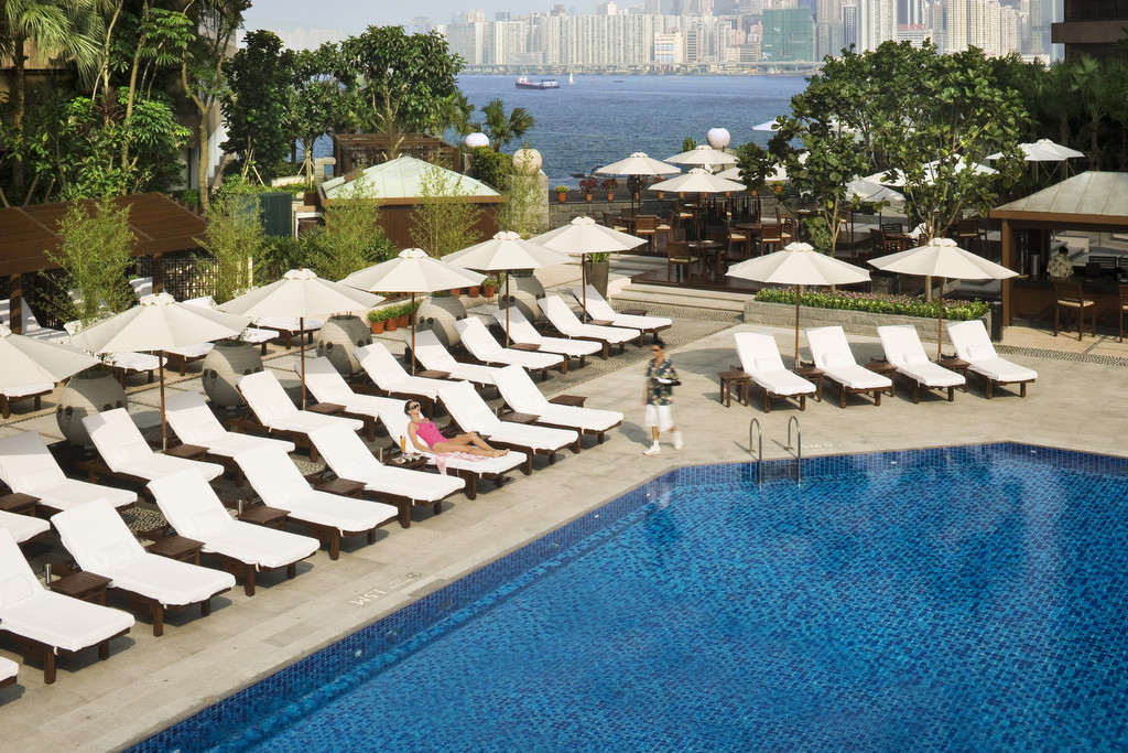InterContinental Hong Kong Pool