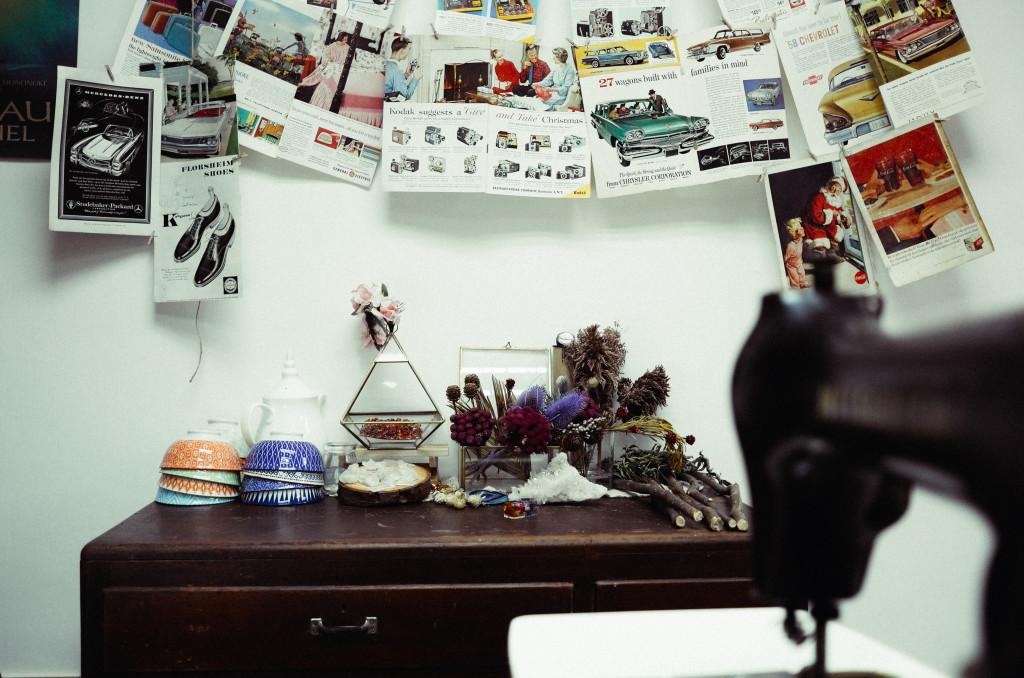Anthorea's studio space. Photo: Alan Pang/The Loop HK