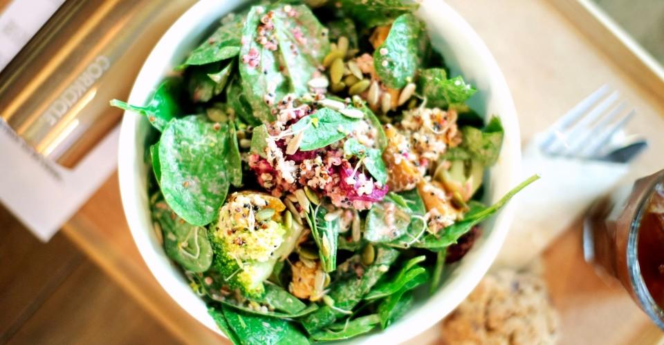 HOME - Eat to Live Manta Ray Salad