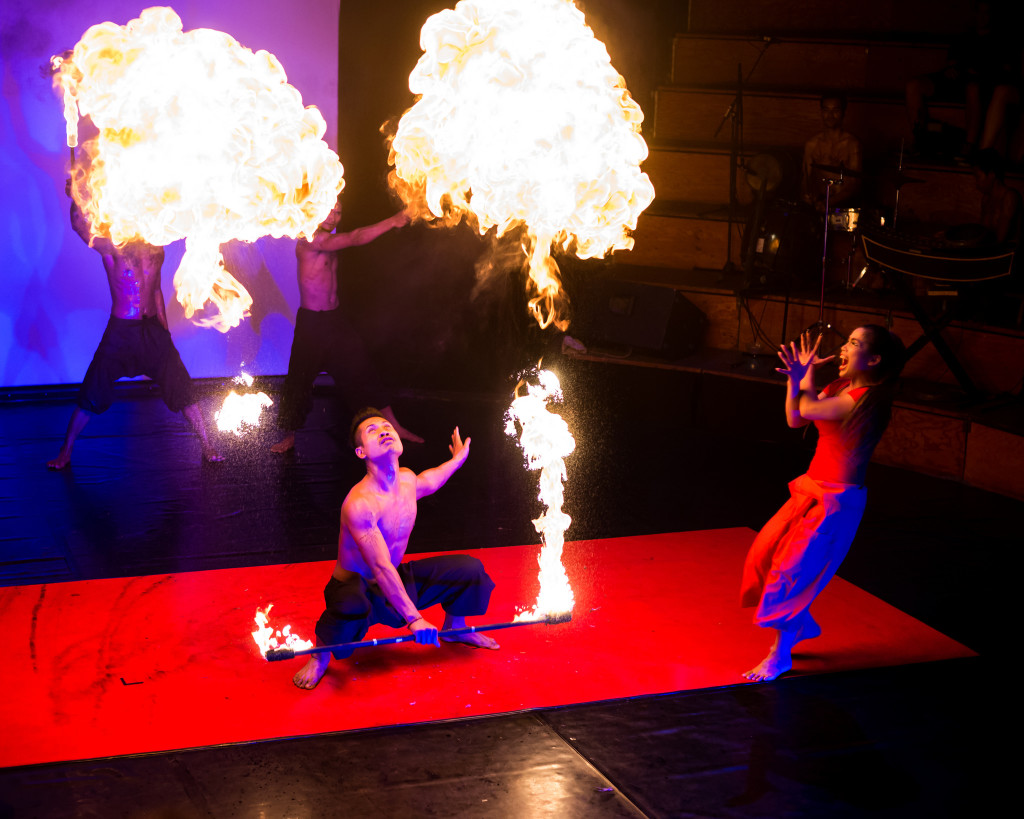 Phare Circus. Photo: Byron Lippincott/Flickr CC