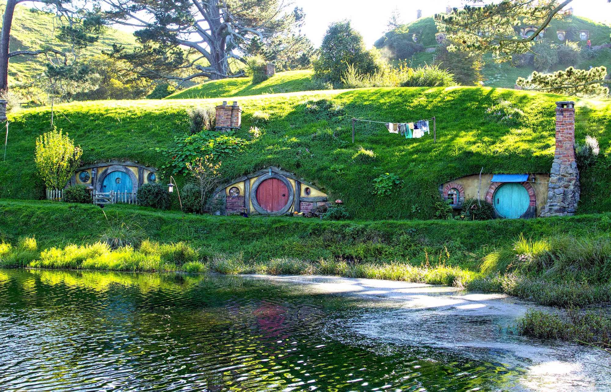 Hobbit Holes in Hobbiton. Photo: Gayatri Bhaumik