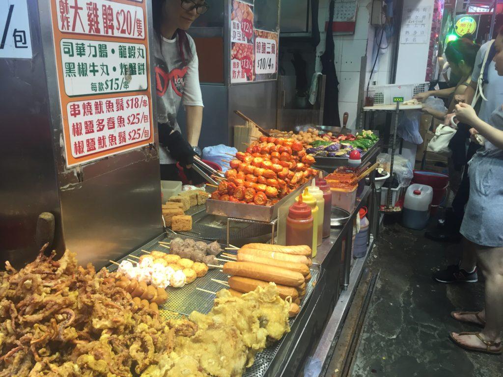 Mong Kok Street Food