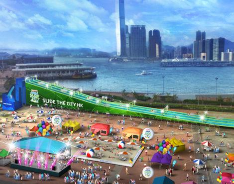 Slide The City Hong Kong Aug 24-29