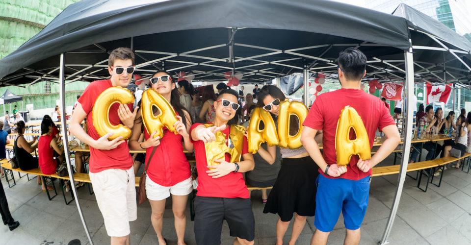 Canada Day in HK