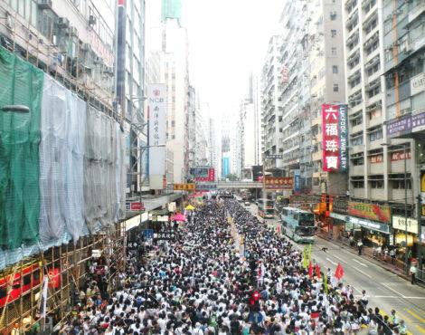 History of July 1 in Hong Kong