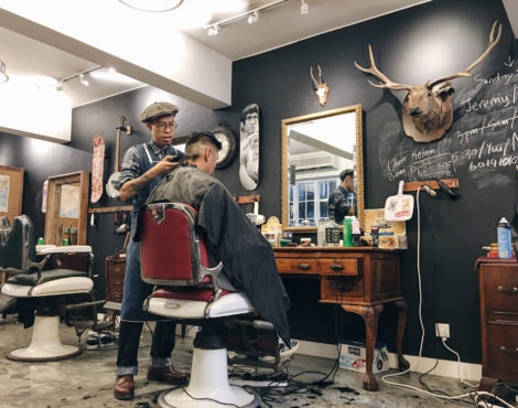 Try these cool barber shops and salons