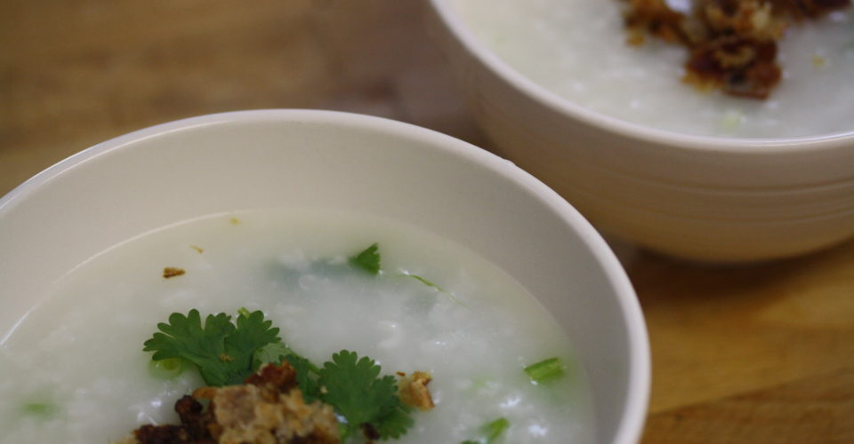 Congee FTW. Photo: Danielle Scott / Flickr