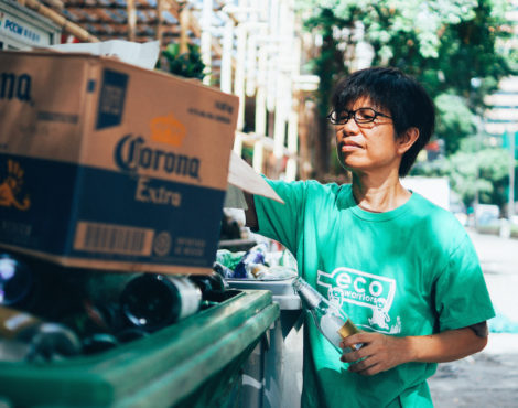 Green Glass Green on the difficulties of glass recycling in Hong Kong