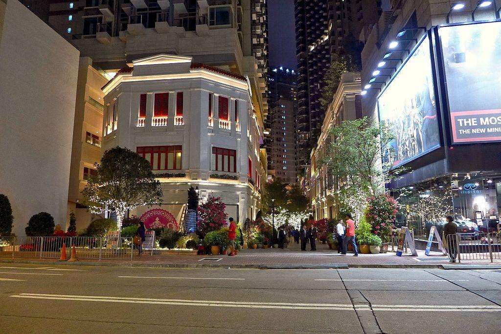 Lee Tung Avenue. Photo: Wing1990hk / CC-BY-SA 3.0