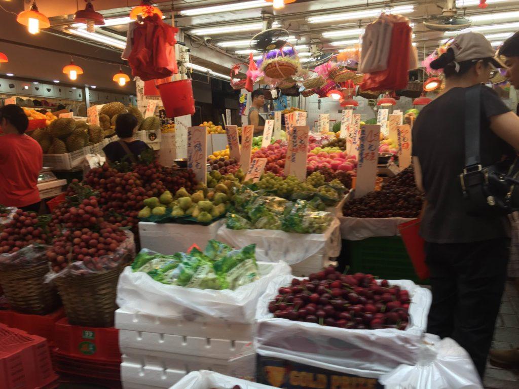 Tai Po Market fresh fruit. Photo: Susie Riza
