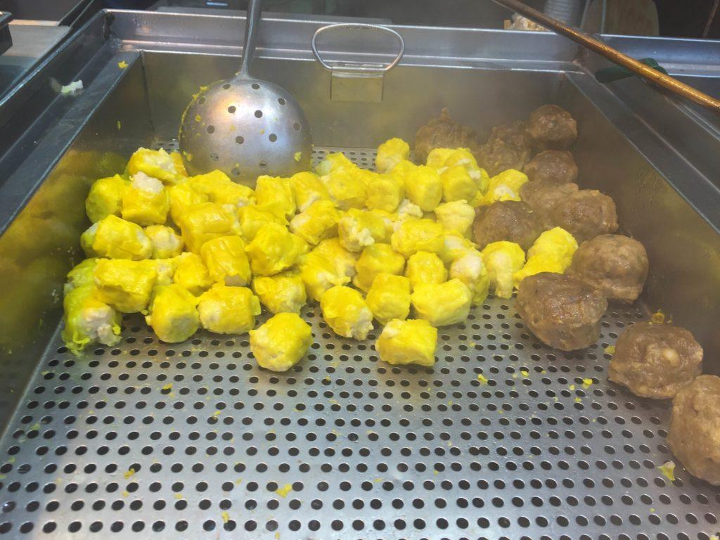 Fish and Beef Balls. Photo: Susie Riza