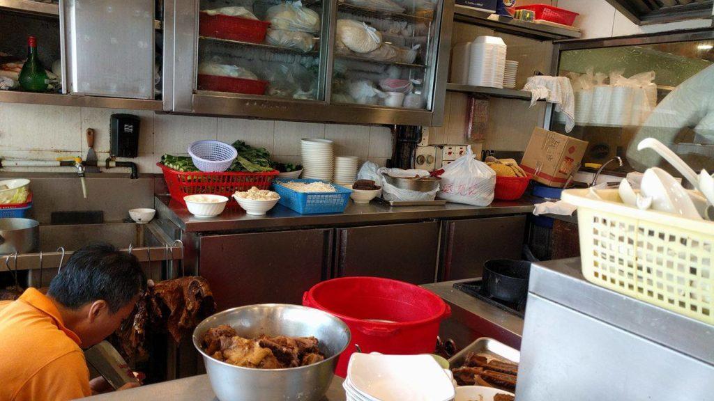 Kwan Kee Beef Brisket Specialist , behind the scenes. Photo: Ashley Riza