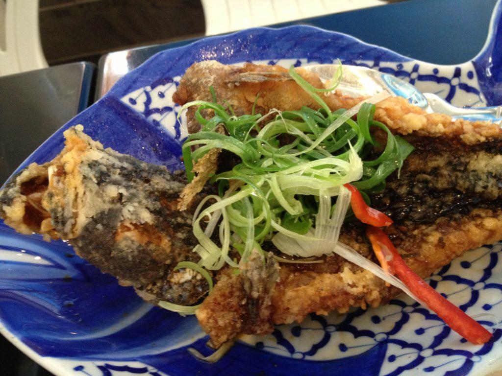Chung Shing Thai Restaurant Fried Fish. Photo: Irene Pyne