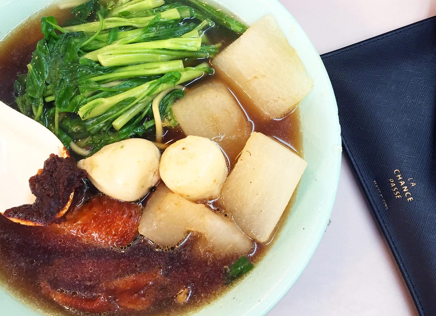 Man Kee Cart Noodles in Sham Shui Po