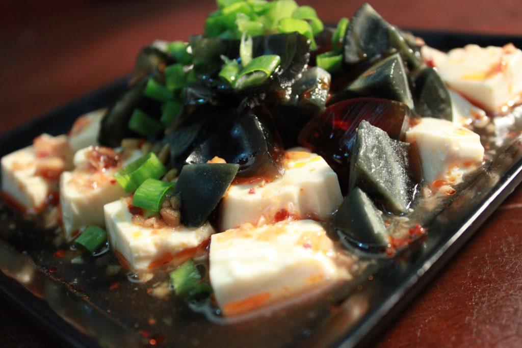 Wan Gaui Chun Fong Mei's century egg tofu