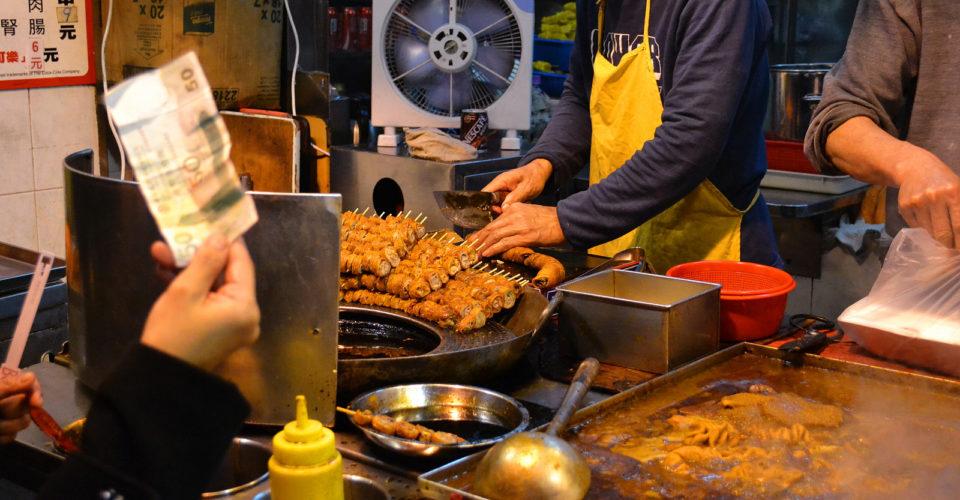 Fried Intestines in Hong Kong. Photo: David Boté Estrada / Flickr CC