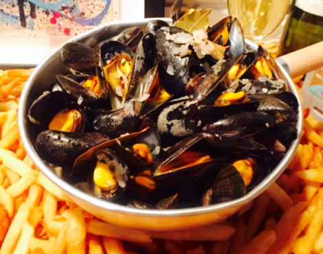 Bouchot mussels at La Cantoche Sep 1-30