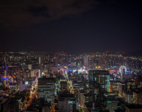 24 hours in Sapporo