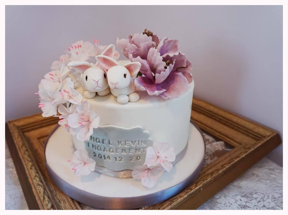 Aesthetics HK's bespoke cake