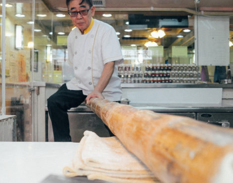 Watch: Jook sing noodle-making is a dying Cantonese art