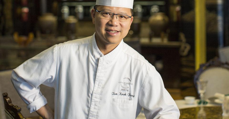 Chef Tam Kwok Fung of Jade Dragon