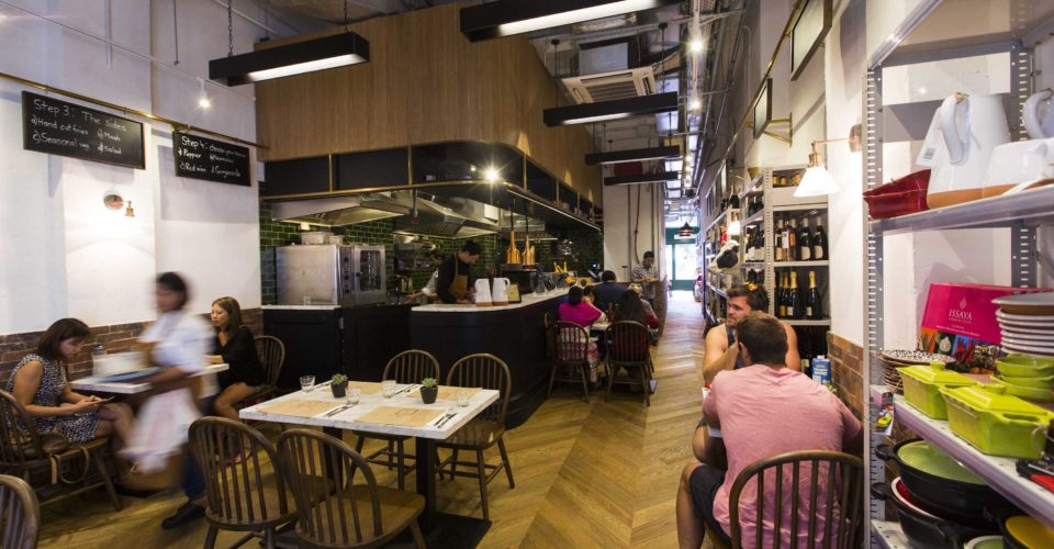 Feather & Bone's all-day dining restaurant