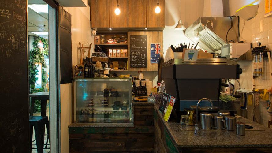 December 1st 2016. Nutsy Coffee Bar by Joseph Lam.
