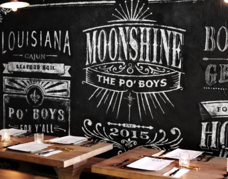 Christmas menu at Moonshine & The Po Boys Dec 12-27