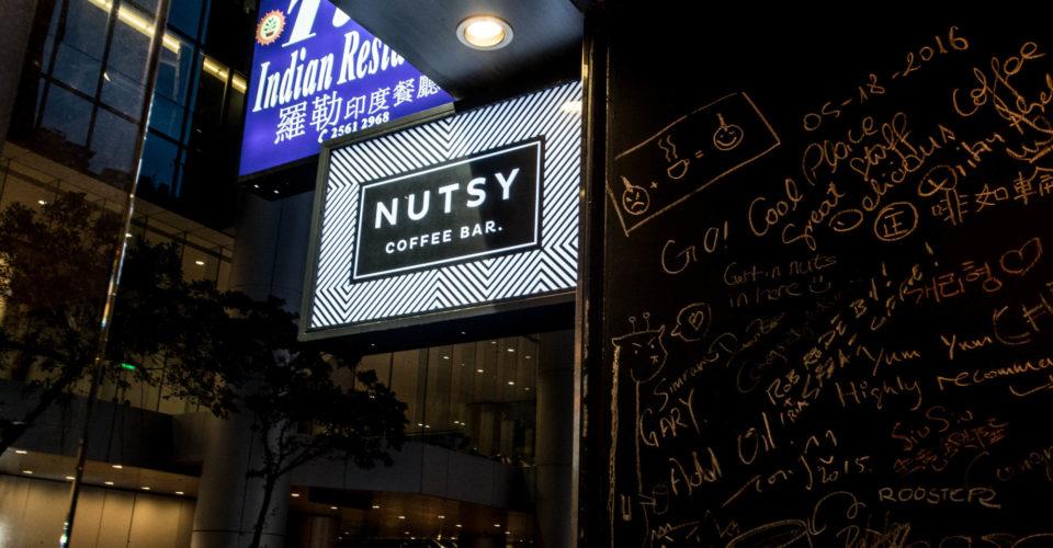 Nutsy Coffee Bar by Joseph Lam