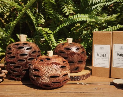 Bathe to Basics releases banksia scent pots in time for Christmas