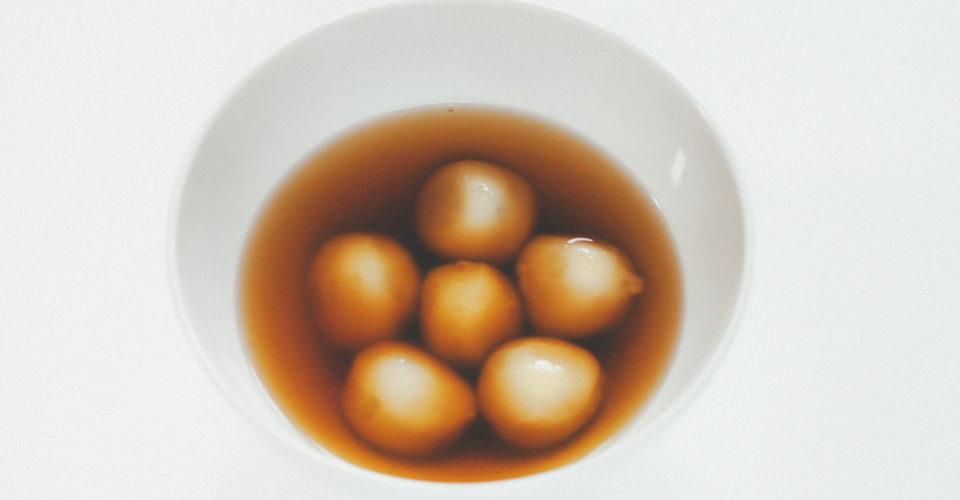 Tong yuen dumplings for Winter Solstice
