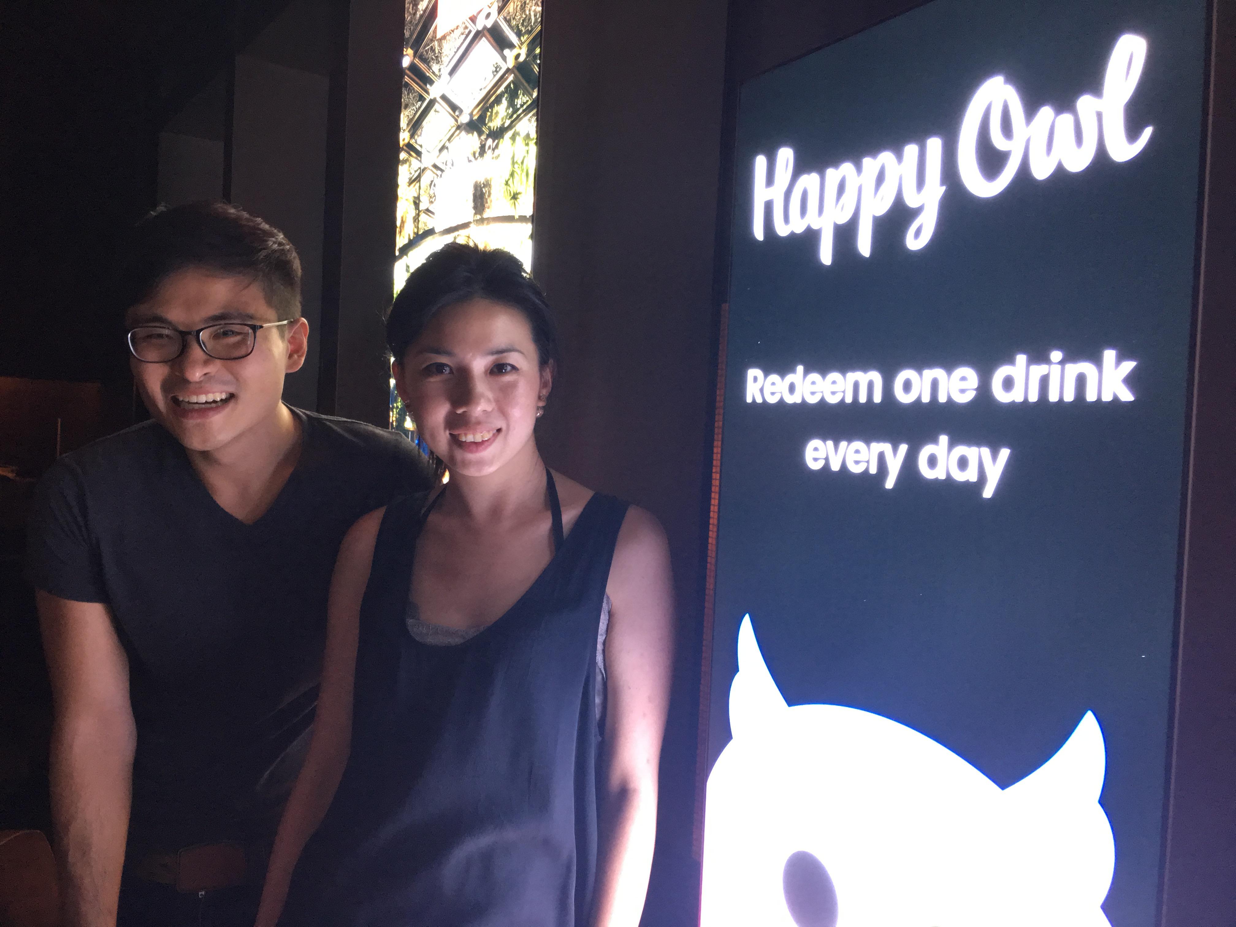 Daniel Cheng and Cassie Mak