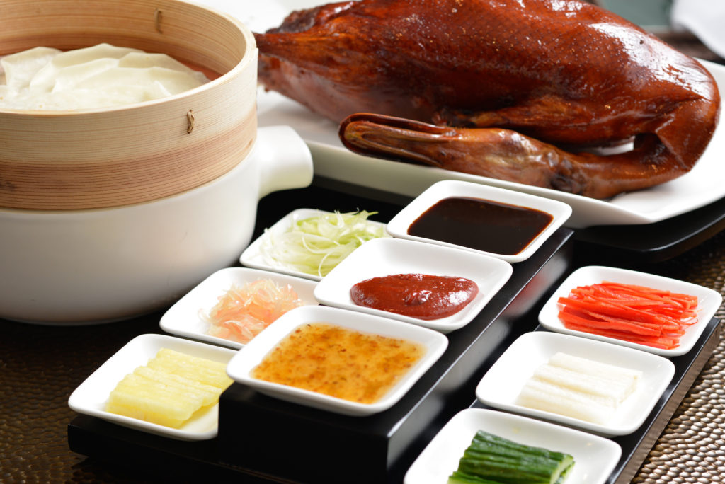 Peking duck at Yan Toh Heen
