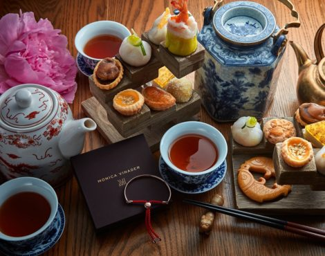 Duddell's x Monica Vinader Afternoon Tea