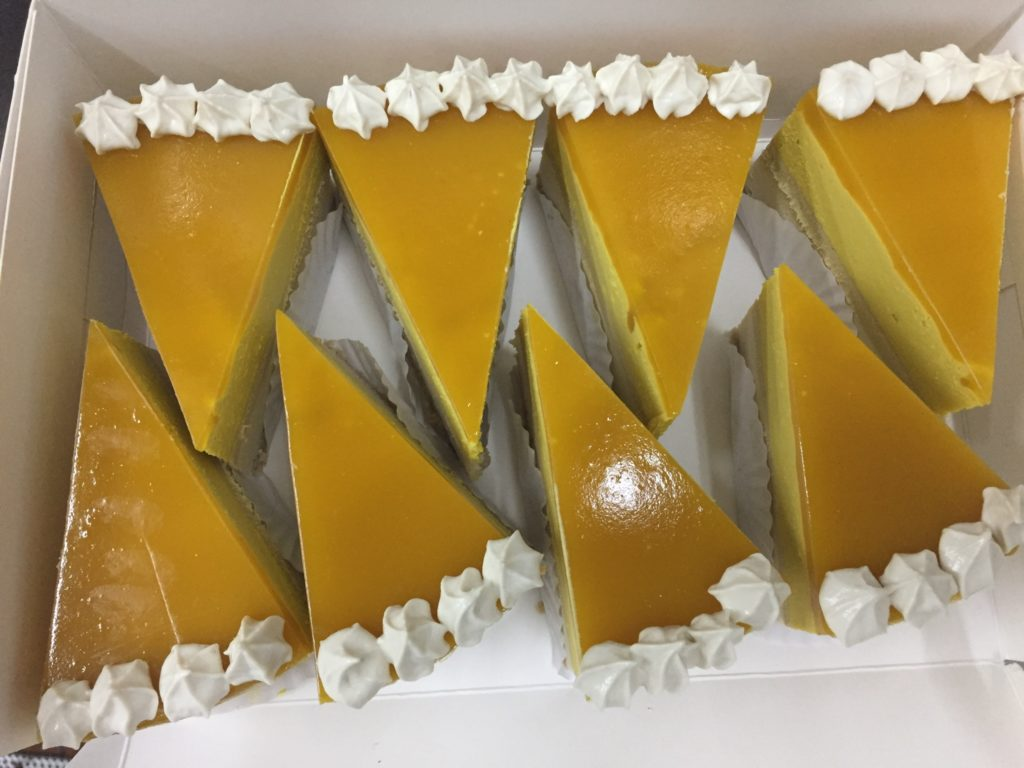 Mango Cheesecake at Maya Café