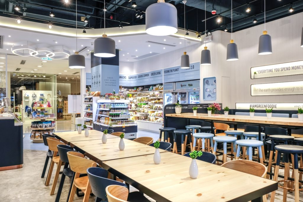 Interiors of Green Common Harbour City
