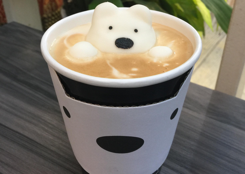 """A cup of coffee that makes you smile"" - Polar Cafe Photo: Johana Shobu"