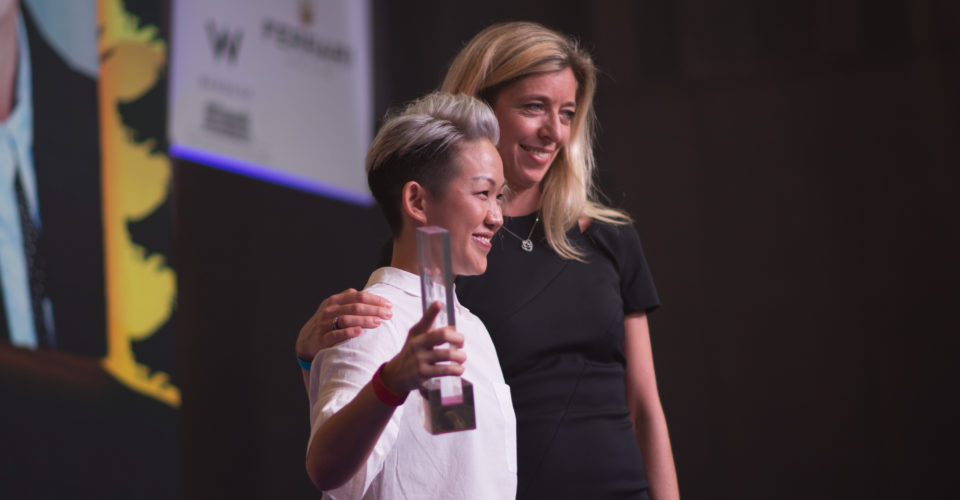 May Chow wins Asia's Best Female Chef. Photo: Asia's 50 Best Restaurants 2017